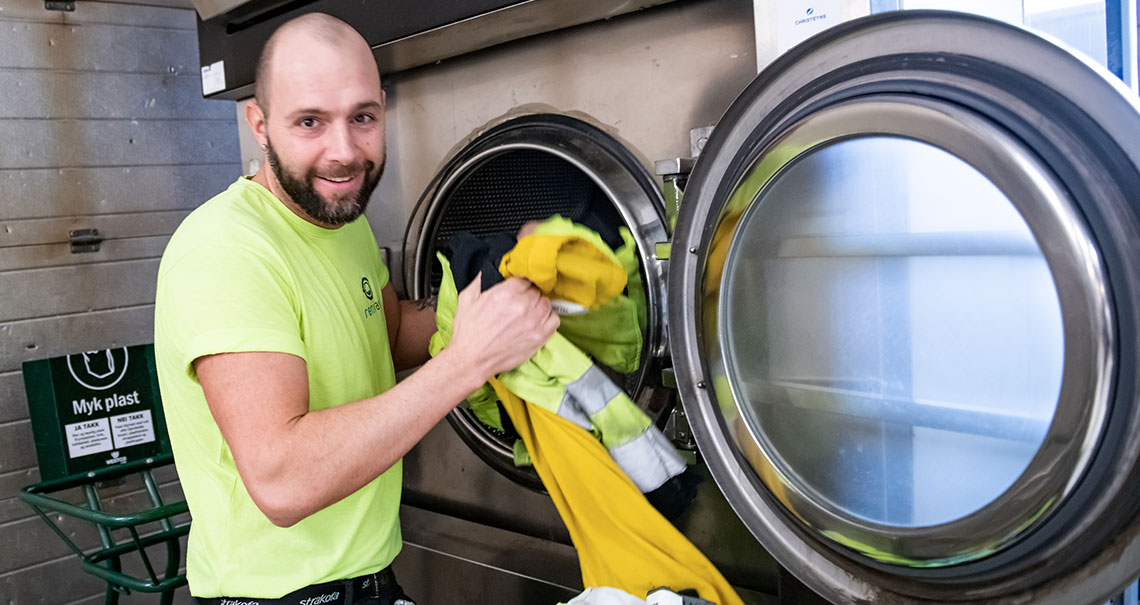 Alltid rene arbeidsklær - Ren Vask AS