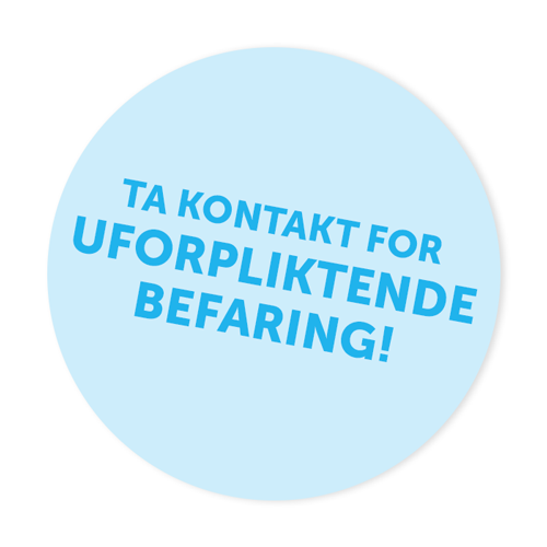 Ta kontakt for uforpliktende befaring - Ren Vask AS